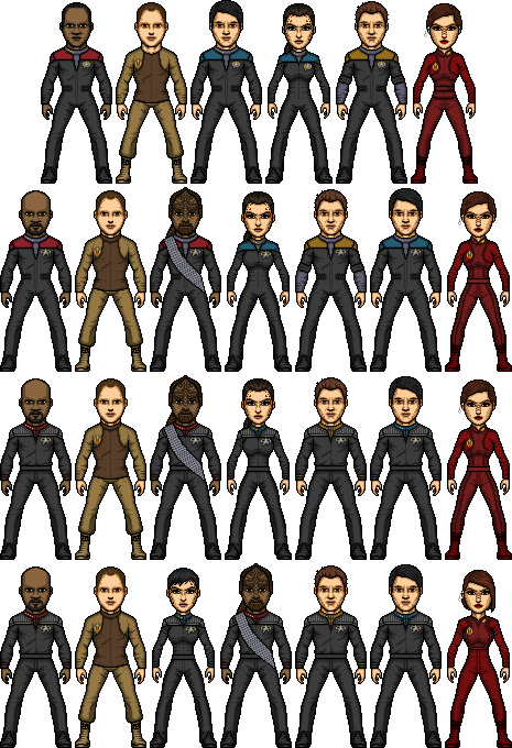Star Trek Deep Space Nine by SpiderTrekfan616