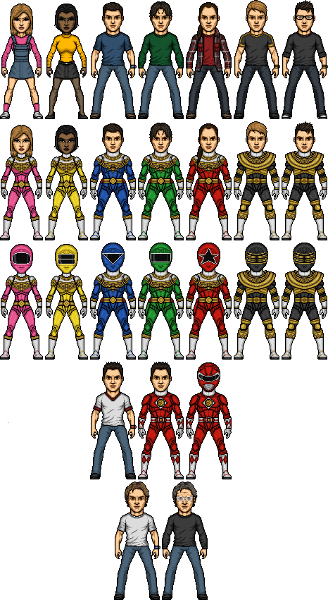 Power Rangers Zeo Alternate by SpiderTrekfan616