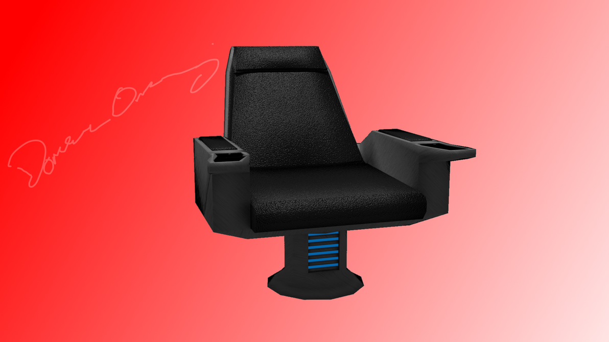 Captain's Chair Watermarked by SpiderTrekfan616
