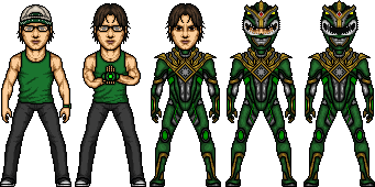 Furyboy12 Green Ranger Alternate by SpiderTrekfan616
