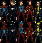 Earth-646 Spiders 2.0 by SpiderTrekfan616