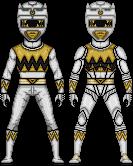 Lost Galaxy White Ranger by SpiderTrekfan616