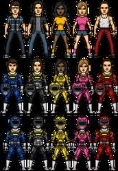 Power Rangers Turbo Alternate by SpiderTrekfan616