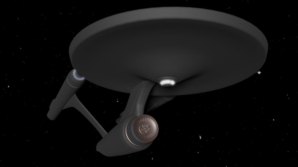 Castaways Enterprise Concept 1 by SpiderTrekfan616