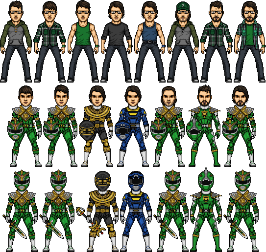Power Rangers the Saga of Dom by SpiderTrekfan616