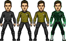 Kelvin Timeline James T. Kirk by SpiderTrekfan616
