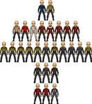 Starfleet Uniform Templates by SpiderTrekfan616