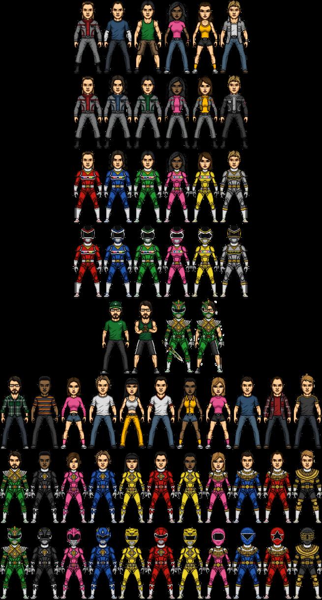 Power Rangers in Space Alternate by SpiderTrekfan616