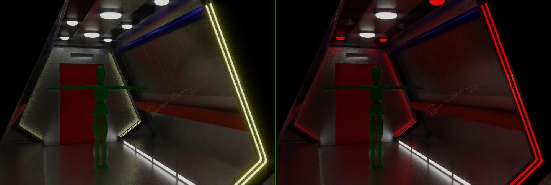 Corridor Concept by SpiderTrekfan616
