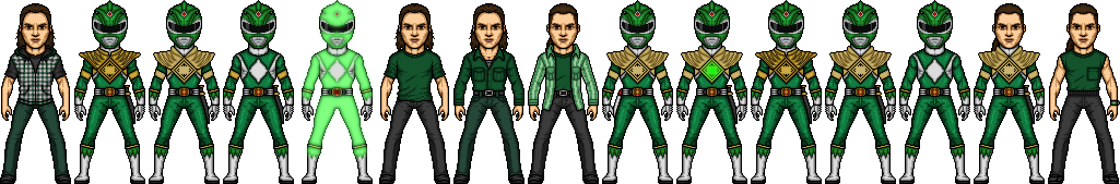 Tommy Oliver's Green Years by SpiderTrekfan616