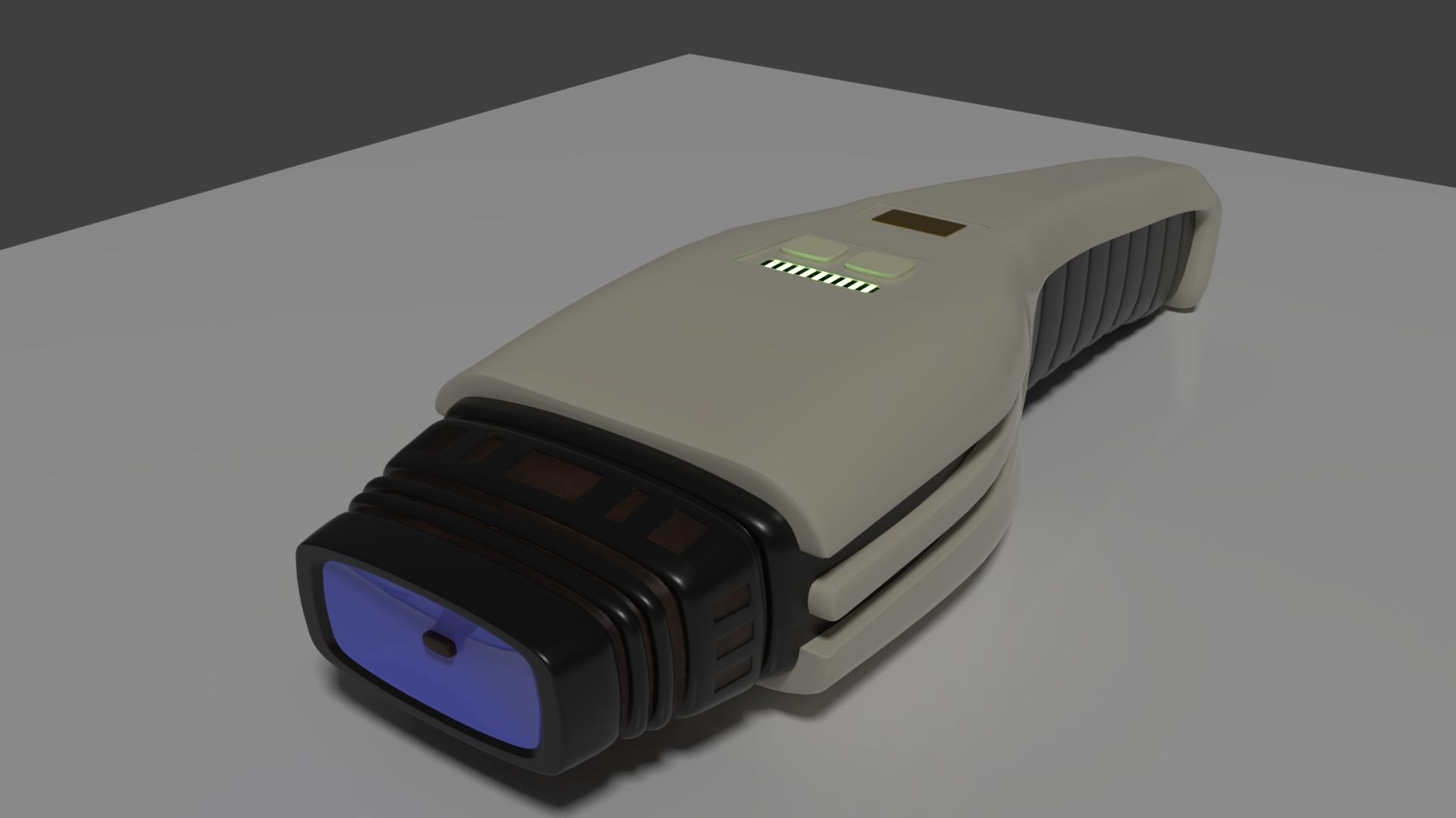 Dustbuster Phaser Mark III by SpiderTrekfan616
