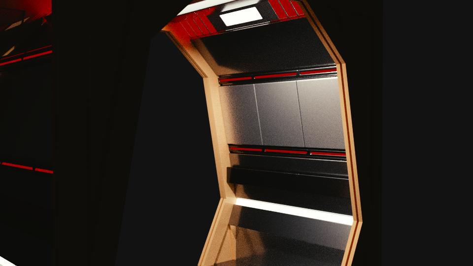 Stargazer Corridor Concept by SpiderTrekfan616