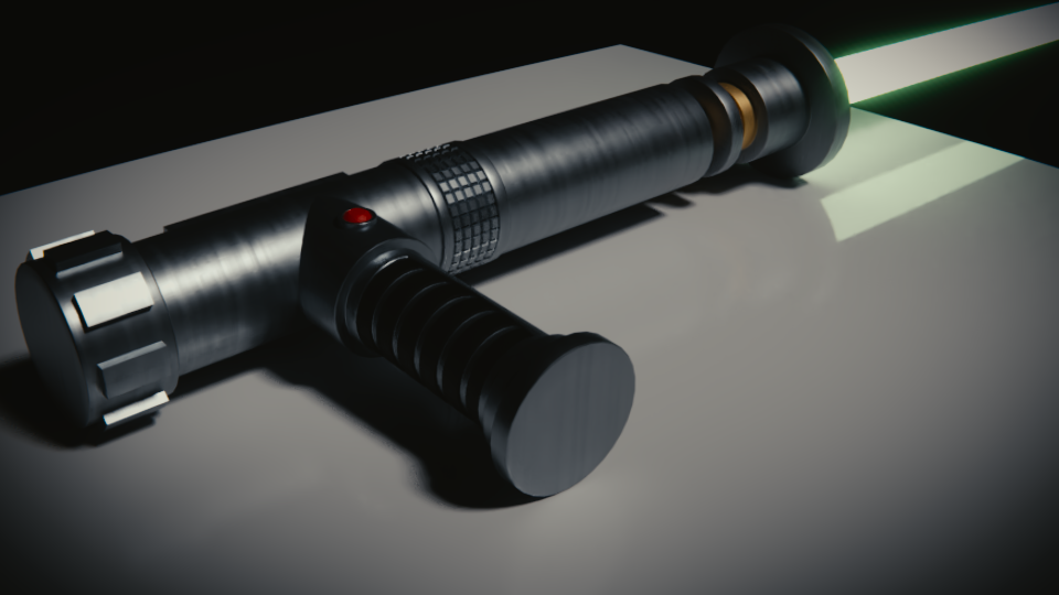 Jack Satchel's Lightsaber by SpiderTrekfan616