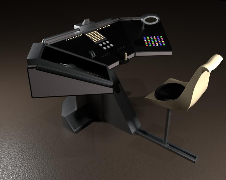 Grace Helm Console WIP by SpiderTrekfan616