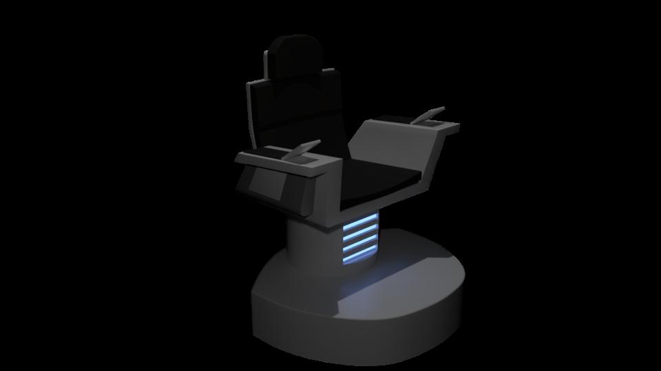 Grace Captain's Chair WIP by SpiderTrekfan616