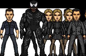 Venom 2018 Cast by SpiderTrekfan616