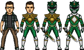 All New Green Ranger by SpiderTrekfan616