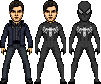 Black Suit Spider-Man by SpiderTrekfan616