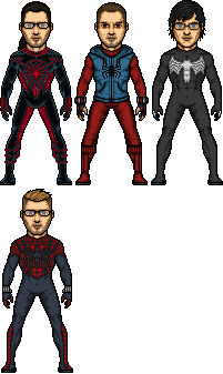 Spider-Powered Heroes by SpiderTrekfan616