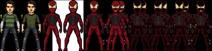 Ultimate Crimson Spider by SpiderTrekfan616