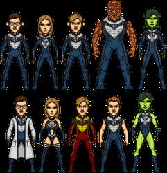 Earth-TRN1147 Fantastic Four by SpiderTrekfan616