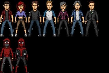 Ultimate Redux Spider-Man WIP by SpiderTrekfan616