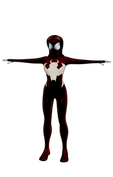 Ultimate Spider-Woman Character Model WIP