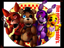 Five nights at freddy's by HunterBite