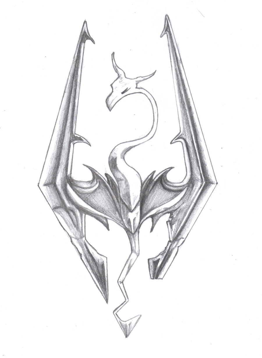 above is skyrim drawing - photo #41