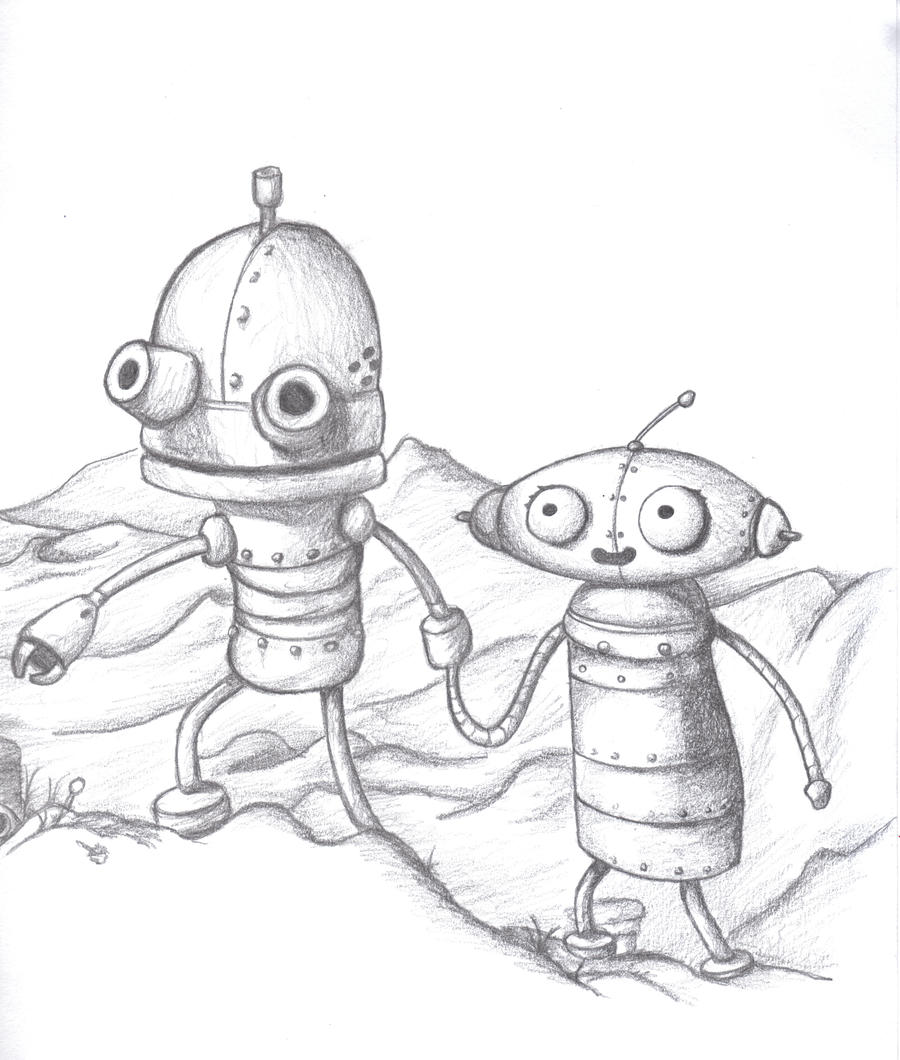Machinarium Fan Art by Kyg0n