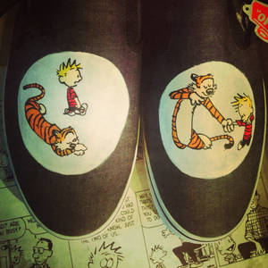 Calvin and Hobbes Vans 3