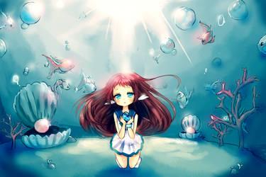 Ocean Tears [SPEEDPAINTS AVAILABLE] by lunacyhime