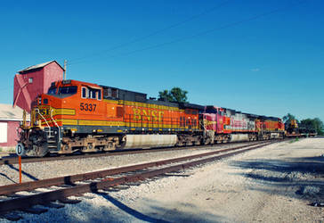 bnsf power by SMT-Images