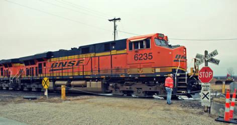 BNSF 6235 Again