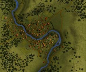 Avanseot Village Map by Brian-van-Hunsel