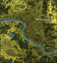 Woodbridge Village Map by Brian-van-Hunsel
