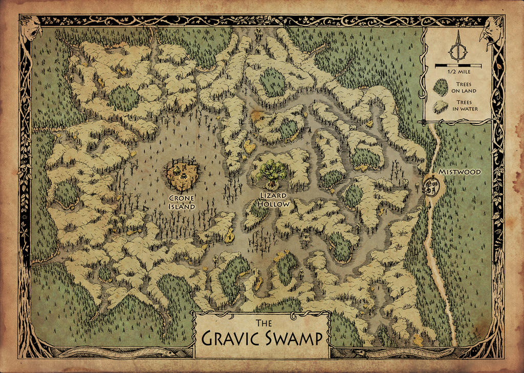 The Gravic Swamp by Blaidd--Drwg