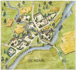 Val Modrum village map
