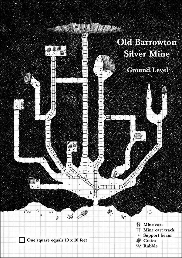 Barrowton Silver Mine - Level 1 by Brian-van-Hunsel on