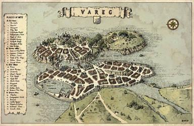 Tun Vareg - City Map by Brian-van-Hunsel