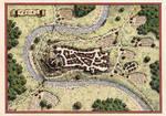 Tuvia - Town map