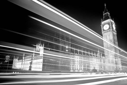 Big Ben and the Lights