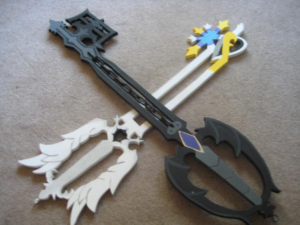 Gamemakertechinfo Images Kingdom Hearts Oathkeeper And Oblivion