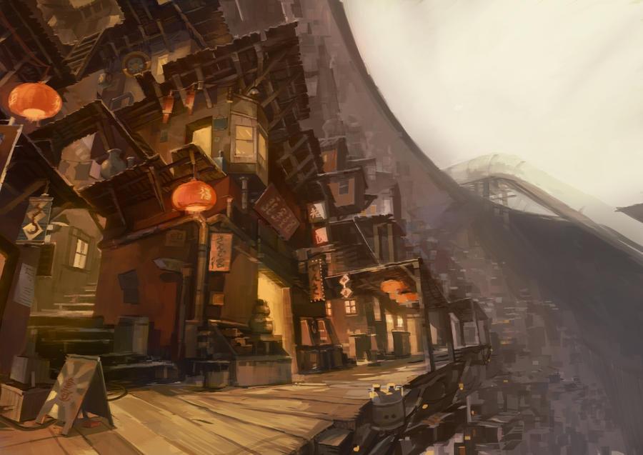 Pit City Market Area 2 by niuner