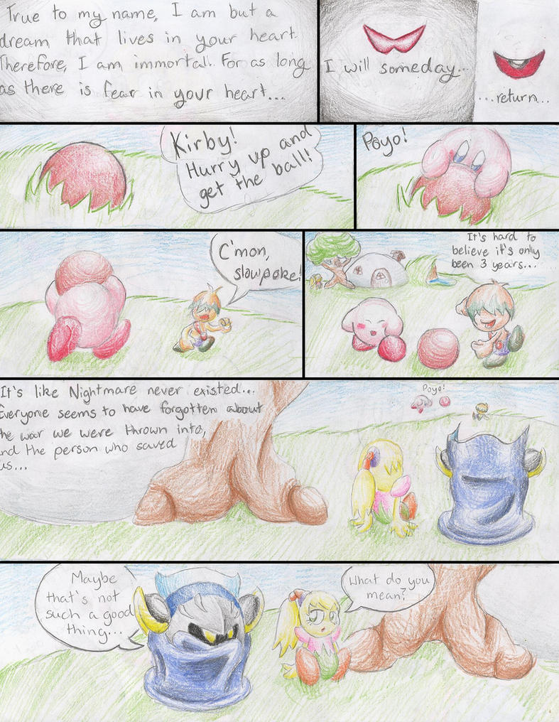 Hoshi No Kaabii: A Recurring Nightmare #1 by ssbbforeva