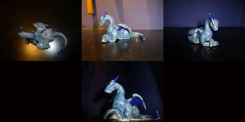 Icy Night Dragon by ssbbforeva