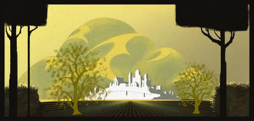 Highgarden, ala Earle by onionjulius