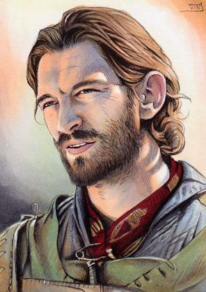 Game of Thrones - Daario Naharis by Trev--Murphy on DeviantArt Daario Naharis Fan Art