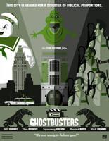 Ghostbusters 1984-2014 by Fantitlan