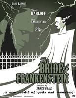 The Bride of Frankenstein (1935) by Fantitlan